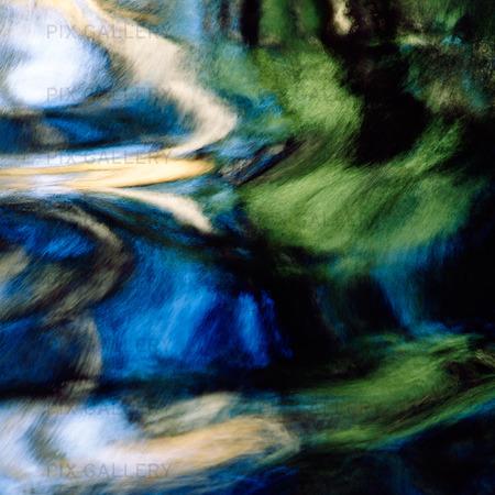 Speglingar i vattendrag