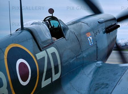 Spitfire, veteranflyg från 2:a världskriget
