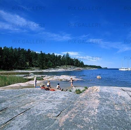 Kållandsö vid Vänern, Västergötland