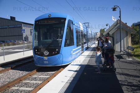 Tåg Lidingö, Stockholm