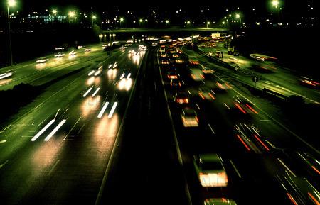 Trafikled i Madrid, Spanien