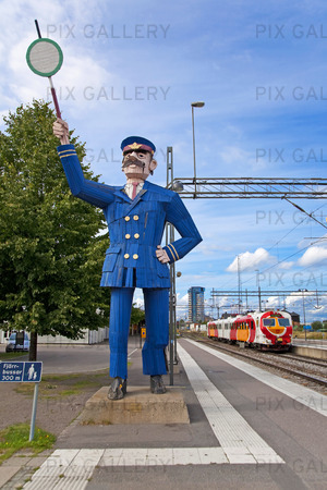 Järnvägsstationen i Linköping, Östergötland