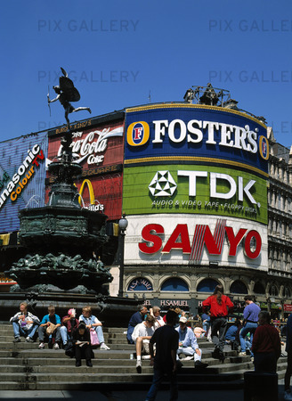 Piccadilly Circus i London, Storbritanni