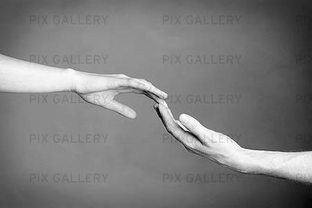 Händer som möts