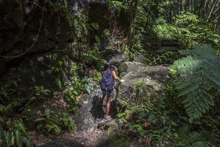 Kvinna i regnskog, Filippinerna