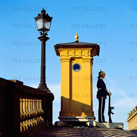 Vakt vid Stockholms slott