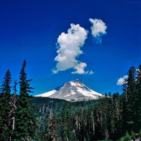 Mount Hood i Oregon, USA