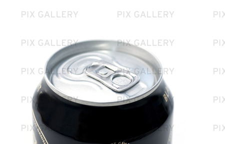 Närbild på en aluminiumburk