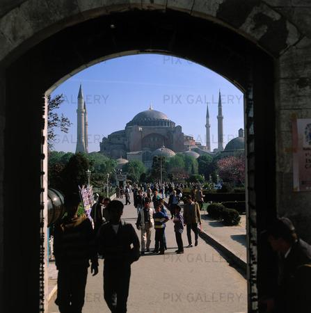Hagia Sofia moskén i Istanbul, Turkiet