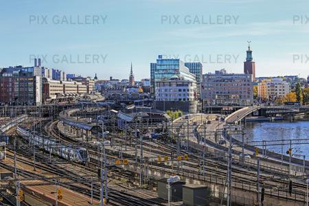 Spårområdet Stockholms central, Stockholm