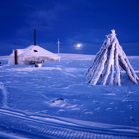 Koja för renskötare, Lappland