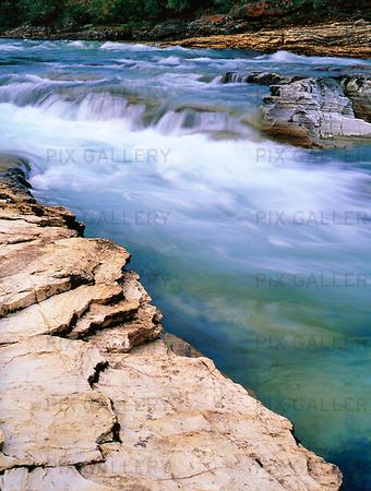 Vattendrag i Abisko, Lappland