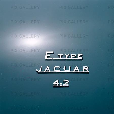 Bildetalj - E Type Jaguar