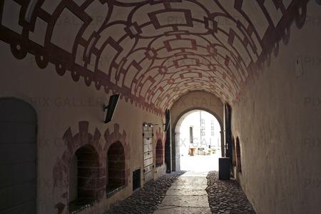 Tunnel vid Kalmar Slott, Småland
