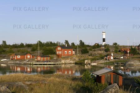 Ålandsskär i Huvudskärsreservatet, Stockholms skärgård
