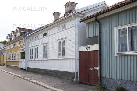 Storgatan i Hudiksvall, Hälsingland