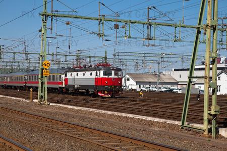 Järnvägsområde i Göteborg