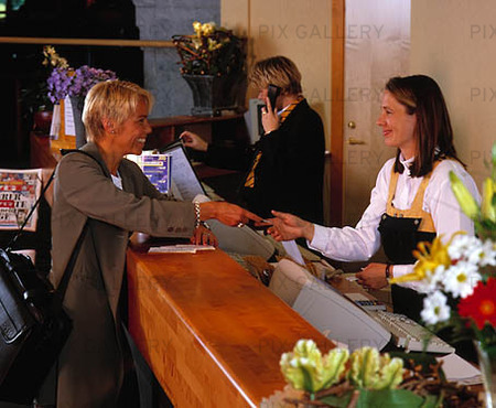 Hotellreception