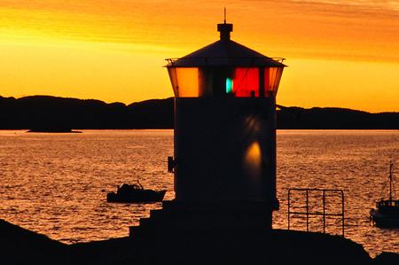 Fyr på Åstol, Bohuslän