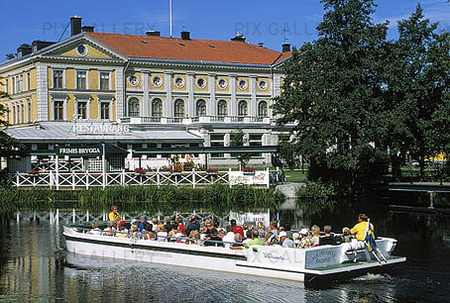 Sightseeing båt i Örebro, Närke