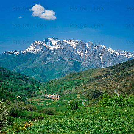 Valdeon Valley, Spanien