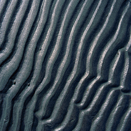 Vågmönster i sand