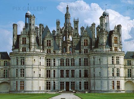 Slottet i Chambord, Frankrike