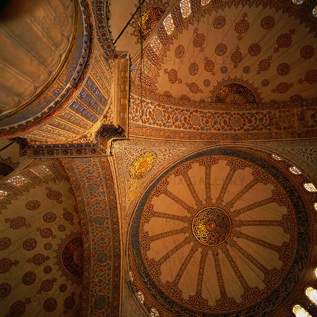 Blå moskén i Istanbul, Turkiet