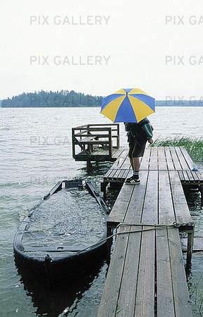 Regnig sommar!