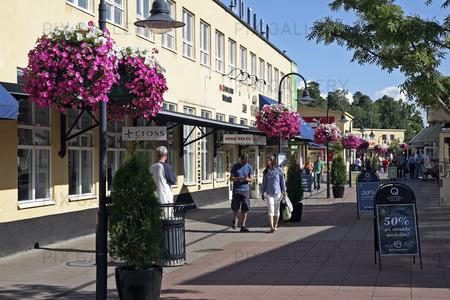 Shoppinggata i Barkaby, Stockholm