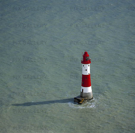 Fyr vid Beachy head, Storbritannien