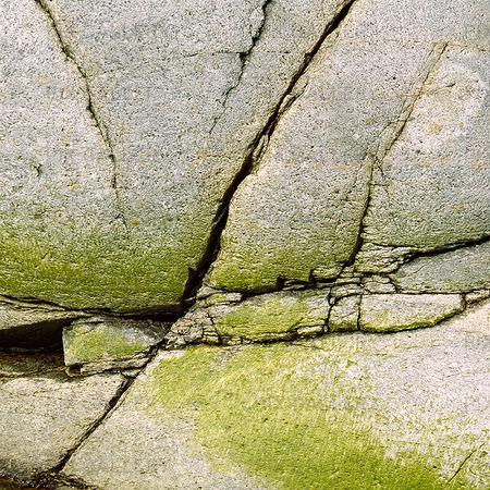Detalj av klippa