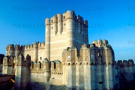 Castle of Coca, Spanien
