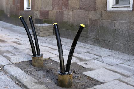 Installation av bergvärmerör