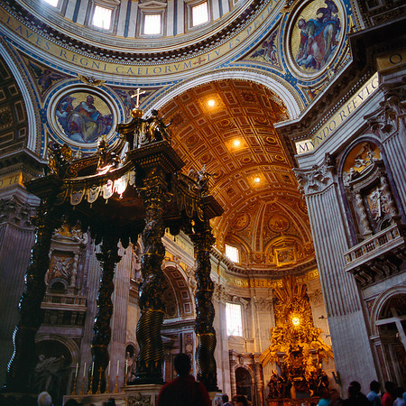 Peters Kyrkan i Rom, Italien