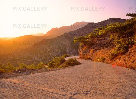 Mindre bergsväg, Grekland