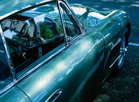 Detaljbild av Aston Martin
