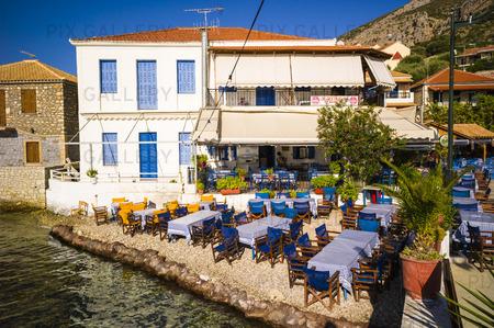 Uteservering, Grekland