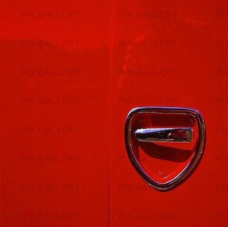 Dörrhandtag på bil
