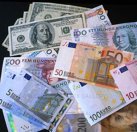 Blandad valuta