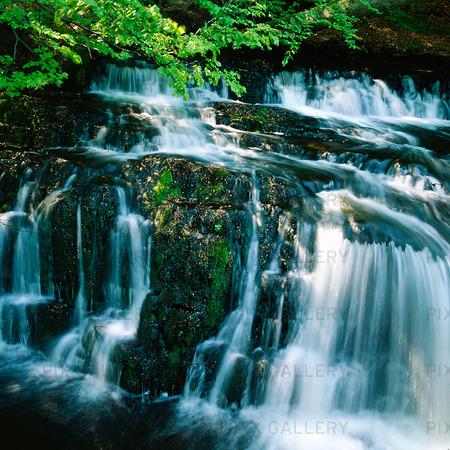 Forsemölla vattenfall i Österlen, Skåne