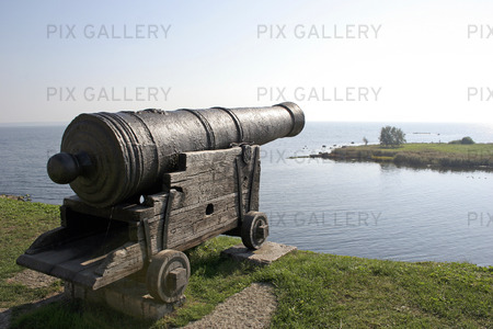 Kanon på Kalmar Slott, Småland