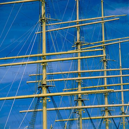 Master of the sailing ship