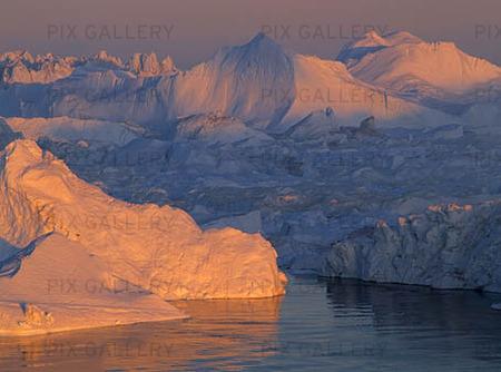 Isberg, Grönland
