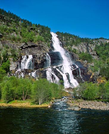 Vattenfall i Hardanger, Norge
