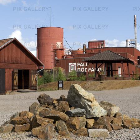 Rödfärgsverket Falu gruva, Dalarna