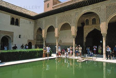 Alhambra, Spanien