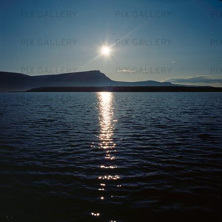 Sjön Satihaure, Lappland