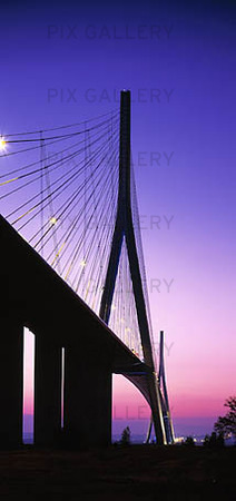 The Pont de Normandie, Frankrike