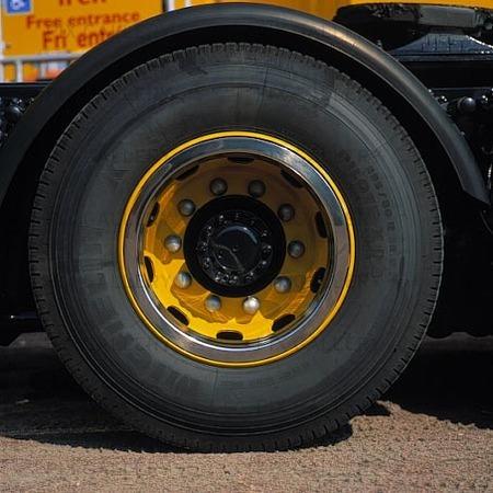 Hjul på lastbil